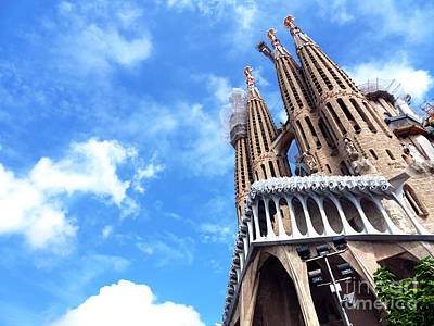 Photograph - Basilica And Expiatory Church Of The Holy Family by John Rizzuto