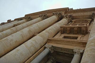 Photograph - Basilica Columns by JAMART Photography