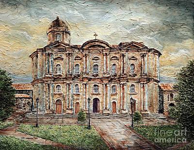 Basilica De San Martin De Tours Art Print