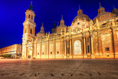 Basilica Del Pilar - Zaragoza Art Print