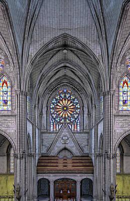 Photograph - Basilica Del Voto Nacional by Maria Coulson