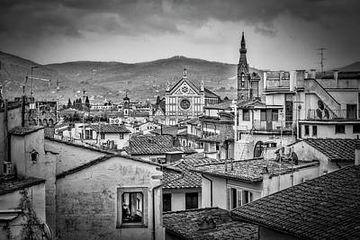 Photograph - Basilica Di Santa Croce by Sonny Marcyan