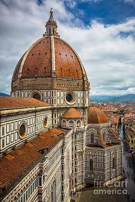 Tuscany Italy Photograph - Basilica Di Santa Maria Del Fiore by Inge Johnsson