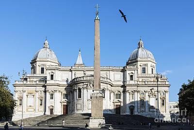 Marian Photograph - Basilica Di Santa Maria Maggiore by John Greim