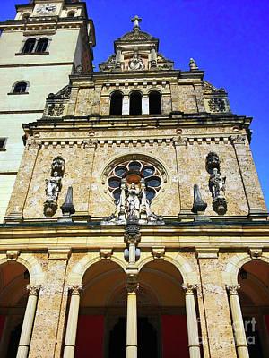 Photograph - Basilica, Main Portal - Marija Bistrica Croatia by Jasna Dragun