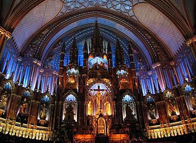 Basilica Notre Dame De Montreal  Original by Juergen Roth