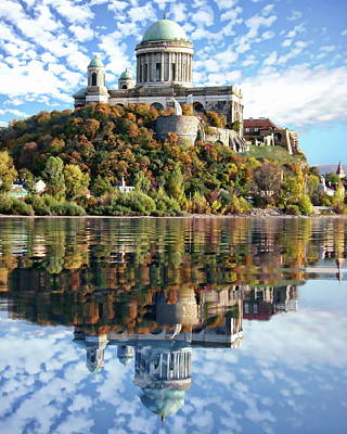 Photograph - Basilica Of Esztergom by Anthony Dezenzio