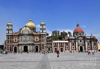 Photograph - Basilica Of Our Lady Guadalupe by Andrew Dinh