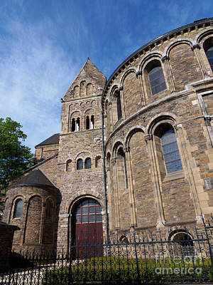 Limburg Photograph - Basilica Of Our Lady In Maastricht Netherlands by Louise Heusinkveld