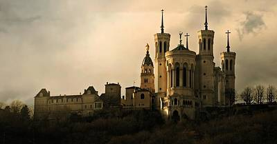 Photograph - Basilica Of Our Lady Of Fourviere  by Katie Wing Vigil