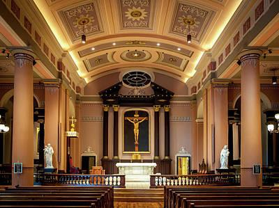 Photograph - Basilica Of Saint Louis, King Of France by Matthew Chapman