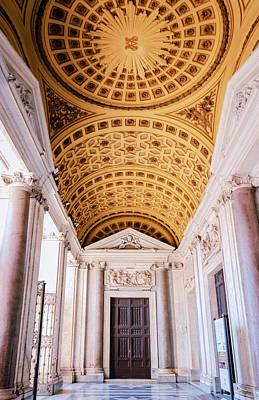 Christian Sacred Photograph - Basilica Of Santa Maria Maggiore Rome II by Joan Carroll