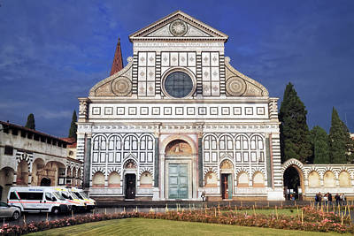 Photograph - Basilica Of Santa Maria Novella by Adam Rainoff