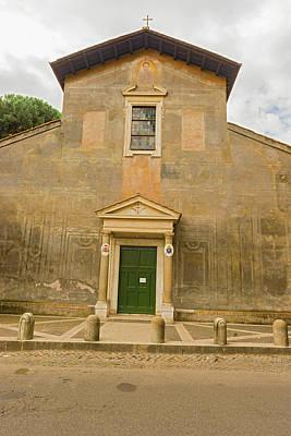 Photograph - Basilica Of Santi Nereo E Achilleo In Rome. by Marek Poplawski