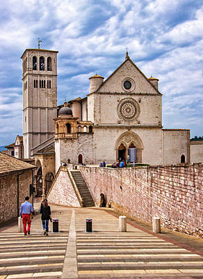 Photograph - Basilica Of St. Francis In Assisi by Carolyn Derstine