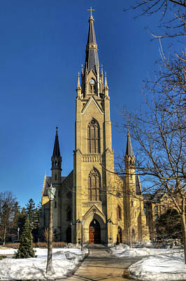 Photograph - Basilica Of The Sacred Heart by Jerry Gammon