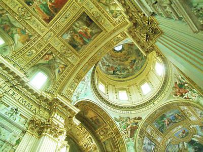 Digital Art - Basilica Sant Andrea Della Valle  by Irina Sztukowski