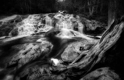 Photograph - Basin Cascade by Bill Wakeley