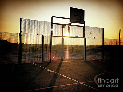 Basket Ball Court Art Print