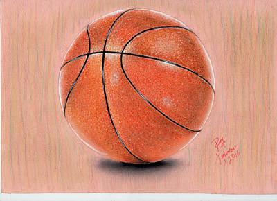 Basket Ball Drawing - Basket Ball by RRR aaarrr TTT RRR aaarrr TTT