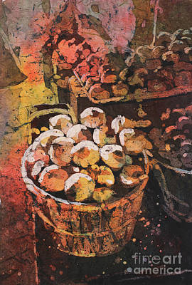 Painting - Basket Of Food by Ryan Fox