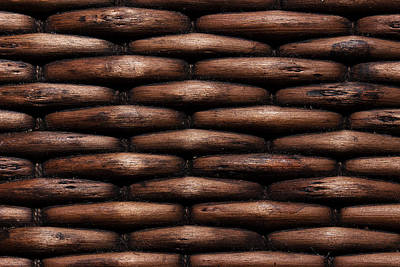 Photograph - Basket Pattern by Mike Eingle