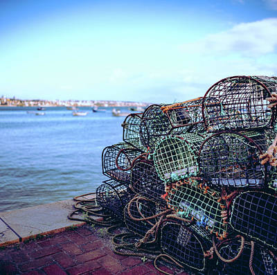 Art Print featuring the photograph Basket Traps by Nisah Cheatham