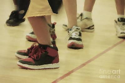 Basketball Feet Art Print