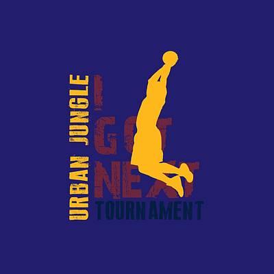 I Phone Covers Photograph - Basketball I Got Next 5 by Joe Hamilton