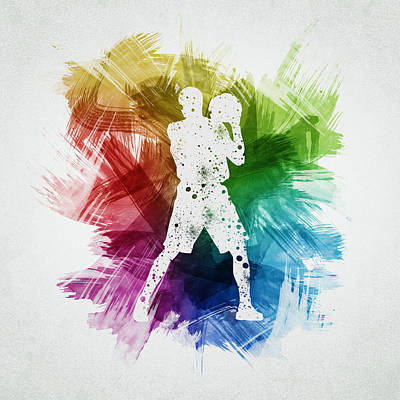 Sports Royalty-Free and Rights-Managed Images - Basketball Player Art 13 by Aged Pixel