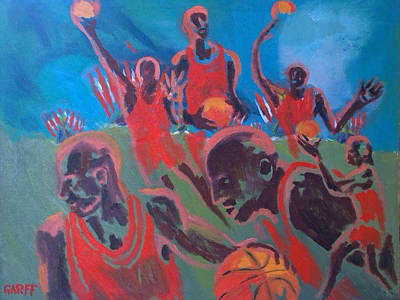 Tate Gallery Painting - Basketball Soul by Enrico Garff