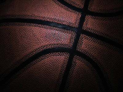 Basketball Print by Zoltan Toth