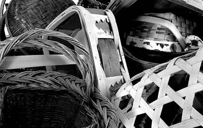 Photograph - Baskets by Amanda Balough