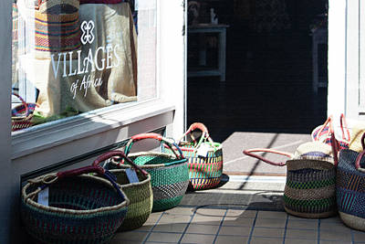 Photograph - Baskets Of Africa by Suzanne Gaff