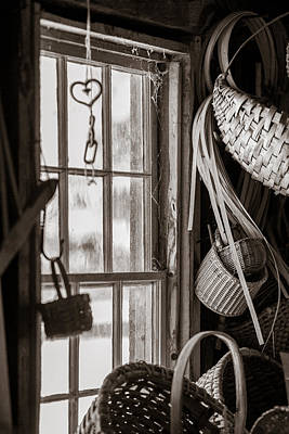 Photograph - Baskets by Sara Hudock
