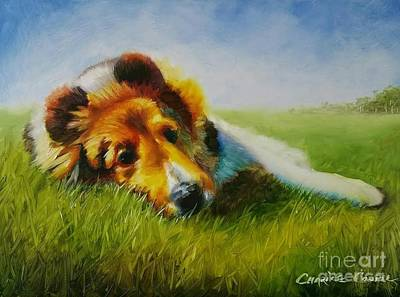 Painting - Basking by Charice Cooper