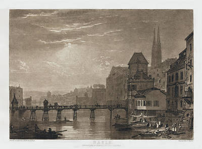 Painting - Basle by Joseph Mallord William Turner and Charles Turner