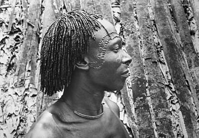 Photograph - Basongo-meno Man, 1946 by Granger