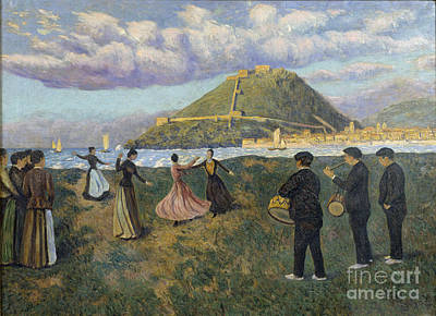 Painting - Basque Celebration  by Celestial Images