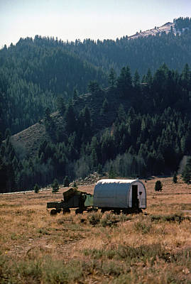 Photograph - Basque Sherherds Wagon by John Schneider