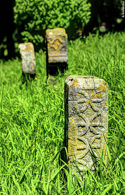 Photograph - Basque Steles In Espelette by Weston Westmoreland