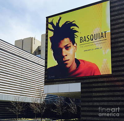 Photograph - Basquiat At The Cma by The Art of Alice Terrill