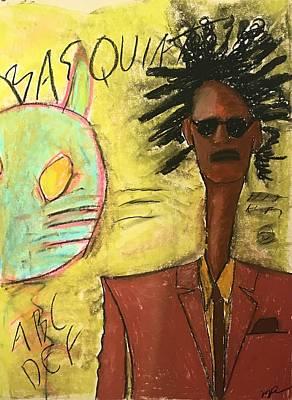 Pastel - Basquiat by Mario Perron