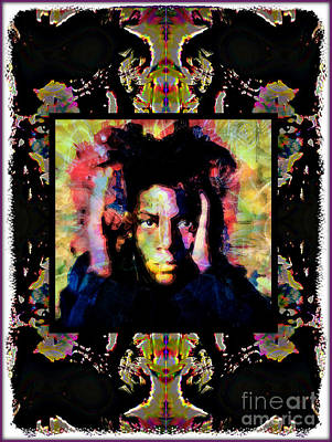 Montage Mixed Media - Basquiat Montage by Wbk