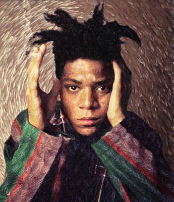 Basquiat Painting - Basquiat by Taylan Apukovska