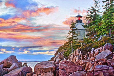 Photograph - Bass Harbor - Acadia - Maine by Nikolyn McDonald