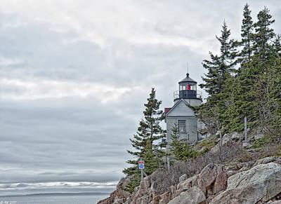 Photograph - Bass Harbor Head Light by Richard Bean