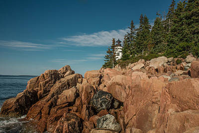 Bass Harbor Head Lighthouse Art Print by Capt Gerry Hare