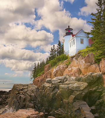 Photograph - Bass Harbor Light by Brian Caldwell