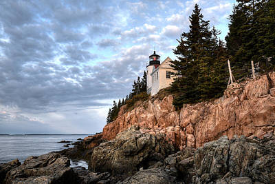 Photograph - Bass Harbor Light No. 1 - Maine - Acadia by Geoffrey Coelho